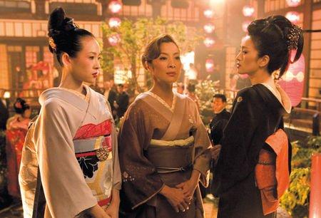 Film: Les mémoires d'une Geisha