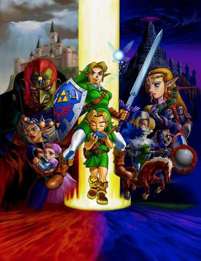 The Legend of Zelda-Ocarina of Time-