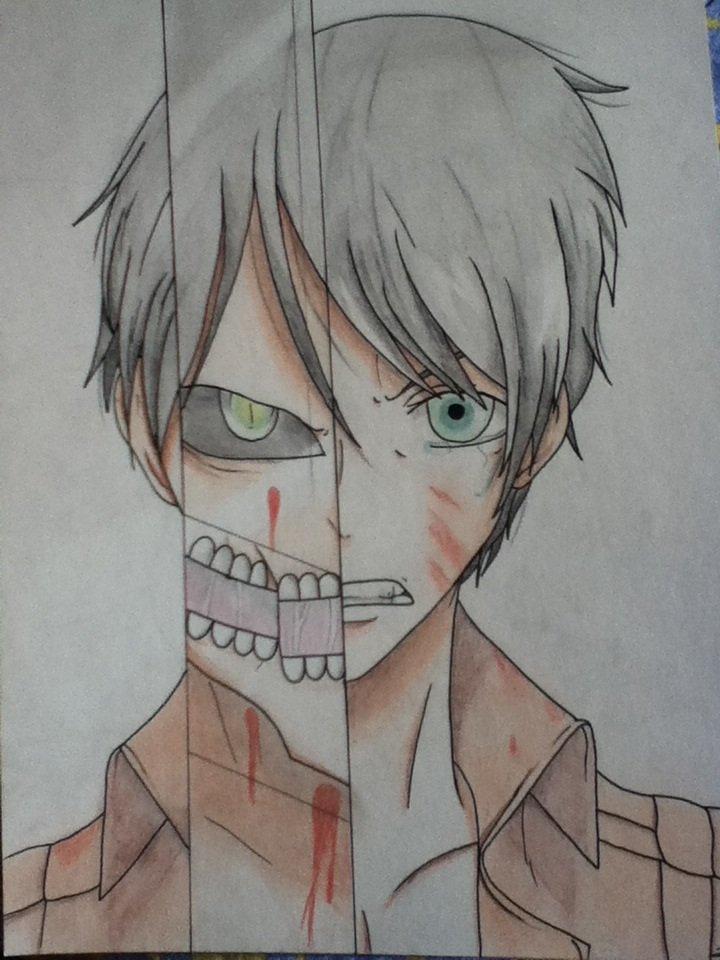 →Eren Jaëger; Shingeki No Kyojin.←
