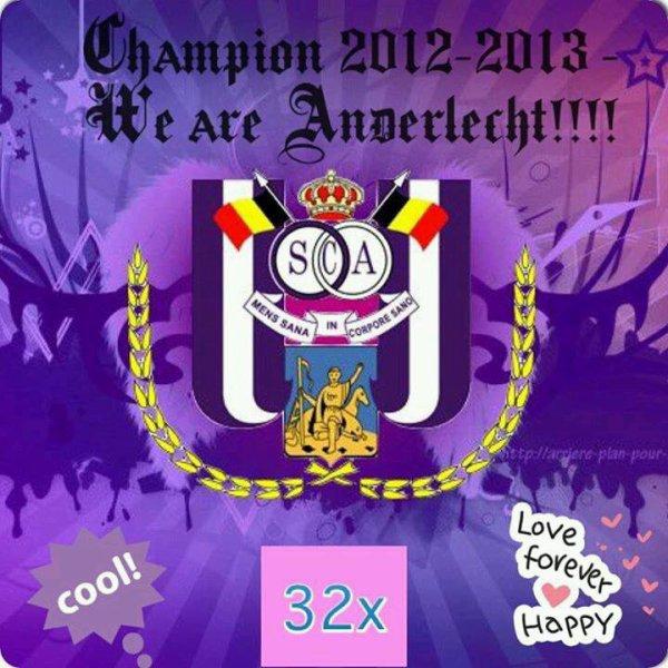 RSCA CHAMPION 2012-2013 - 32e fois - SVP RESPECT