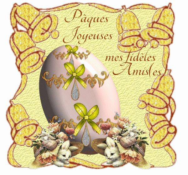 joyeux pâques a tout mes amies et amis
