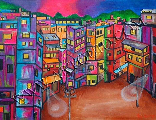 Un soir, une Favela