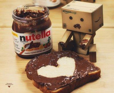 In love with nutella Ö