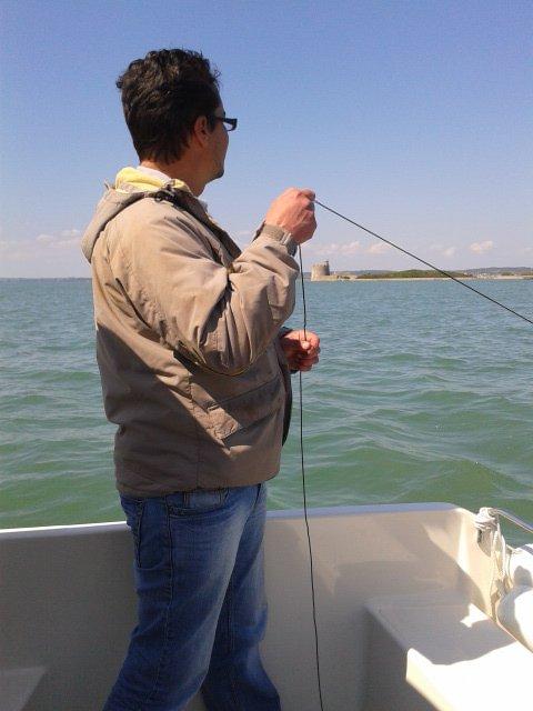 une petite sortie en bateau