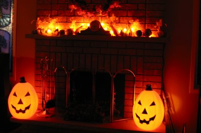 La decorations interieur this is halloween for Decoration interieur halloween