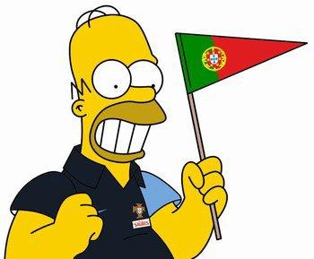 Homer  simpson portugal