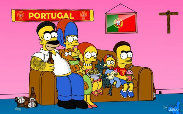Famille simpson portugal