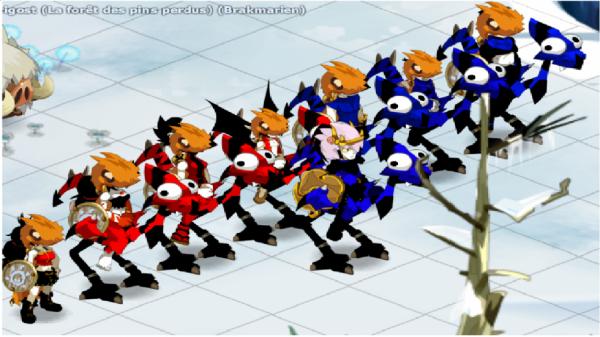 Voila notre team presque tous en dragodinde caméléone =) <3