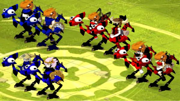Voici la team comple  full DD caméléone