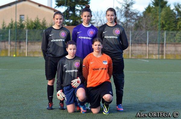 Les gardiennes de la ligue Rhonnes-Alpes