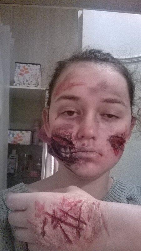 Maquillage d'halloween ^^