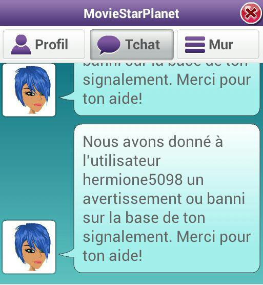 Merci MSP ♥