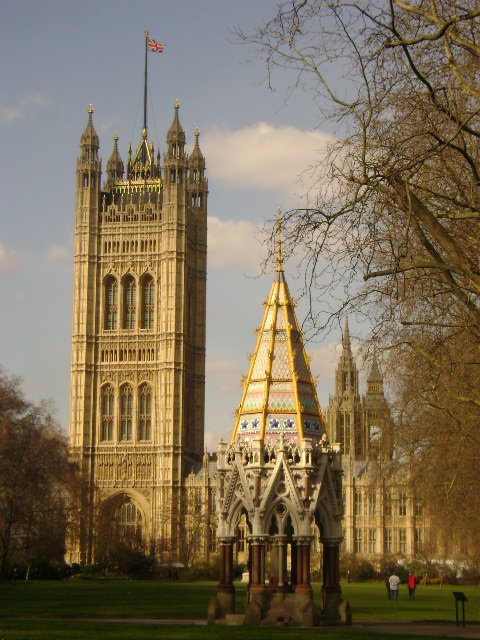 le parlement à Londres