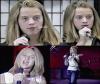 * 4 nouvelles images viennent d'apparaître sur net de Katy étant jeune avec les cheveux blond platine. Comment vous la trouver ?  -