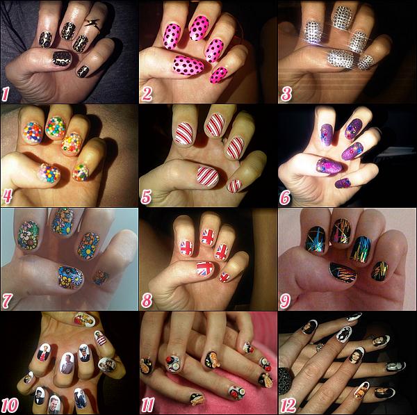 Dossier spécial KatyP-Source > « Katy Perry et ses ongles ! » lesquels préfères-tu ?