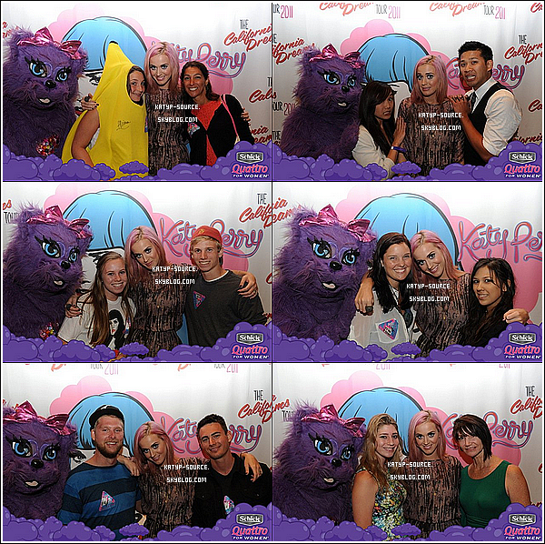 14 Août 2011 - Katy et ses fans aux Meet & Greet du California Dreams Tour à Santa Barbara, C.A.