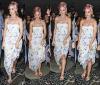 22/09/11: Katy sortant du restaurant « Porcao » à Rio de Jeneiro, Brésil et posant avec quelques fans.