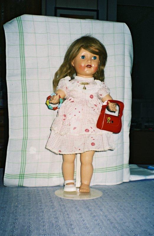 Ma 1ère poupée
