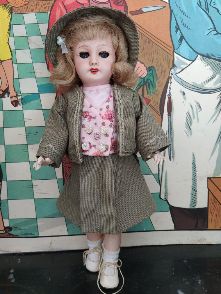 costume d'automne pour Bleuette