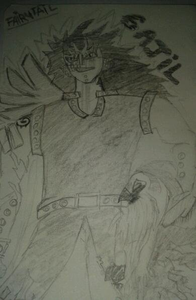 gajeel de fairytail