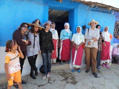 MAROC, les femmes en premierVisite Tatof et cooperative d'argan