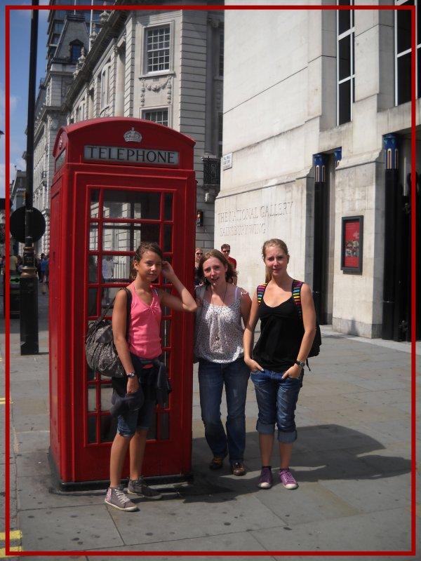Fin juillet, nous sommes allés voir Florine à Londres