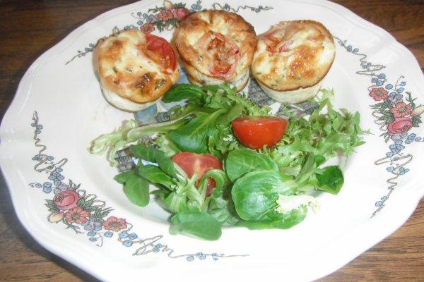 Flan tomate cerise à la féta By Tupperware