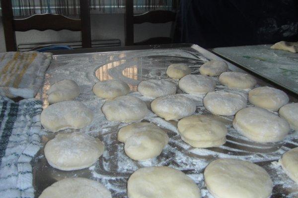 Repas Alsacien chez maman (dampfnüdle ) pain a la vapeur