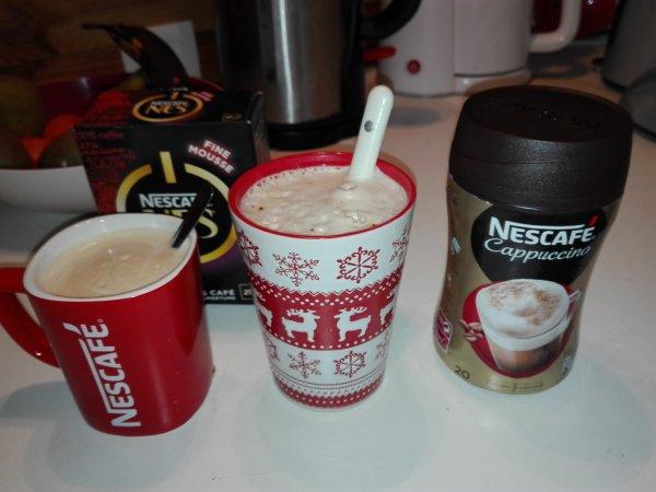 Cappuccino Nescafé by Croquons la vie