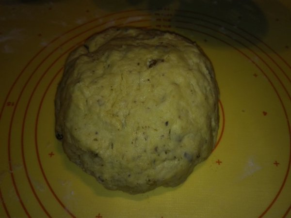 Kougelhopf salé lardons et noix