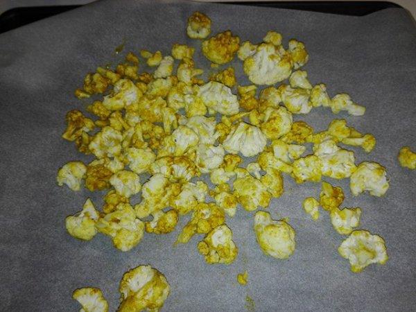 Popcorn de choux-fleur