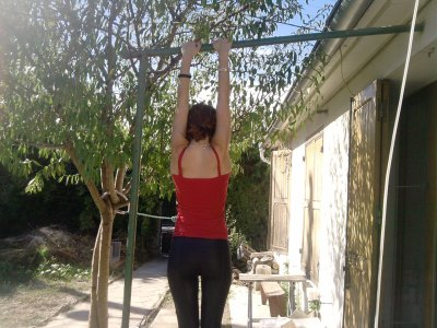 moi  en mode gymnaste