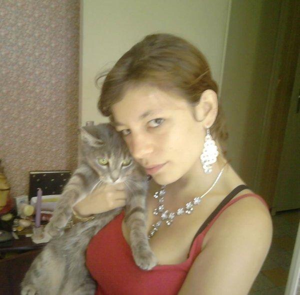 mon chaton et moi