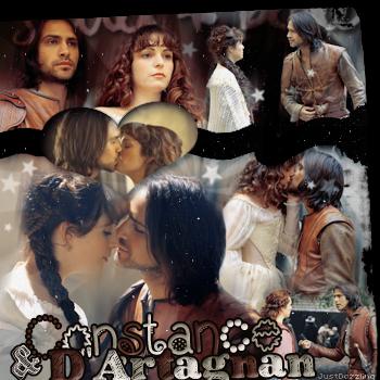 _________________________ Constance Bonacieux & D'Artagnan (The Musketeers) __________________créa ~ déco
