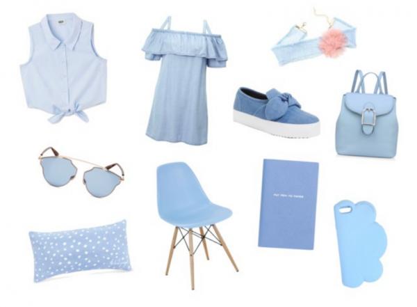 Collection - A ciel ouvert - Bleu clair