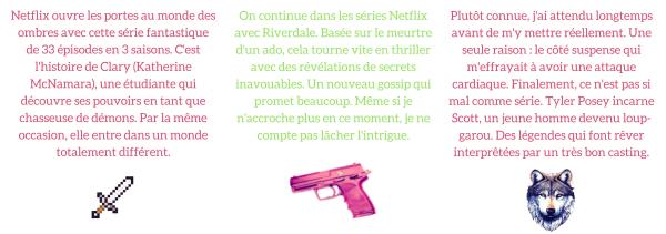 Mes #6 séries sur Netflix