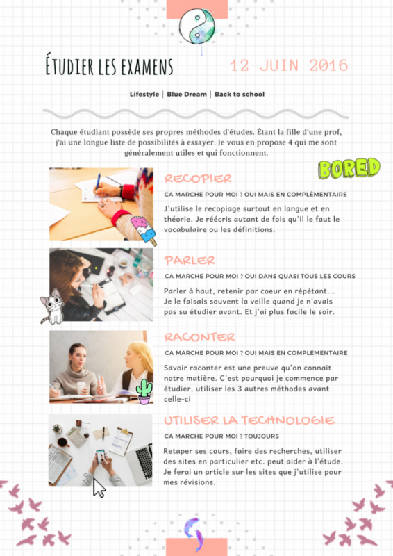 #4 méthodes de révisions