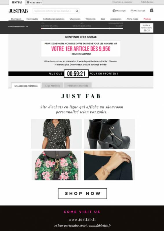 Site d'achat en ligne
