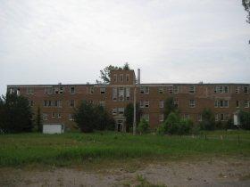 Le sanatorium abandonné du Lac-Edouard, au Québec.