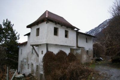 La maison de Bramois vers Sion (en suisse)