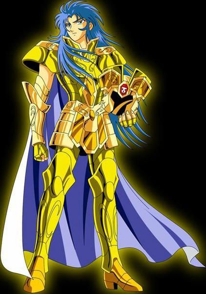 le chevalier d'or du gémeaux