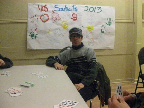 joueur de carte