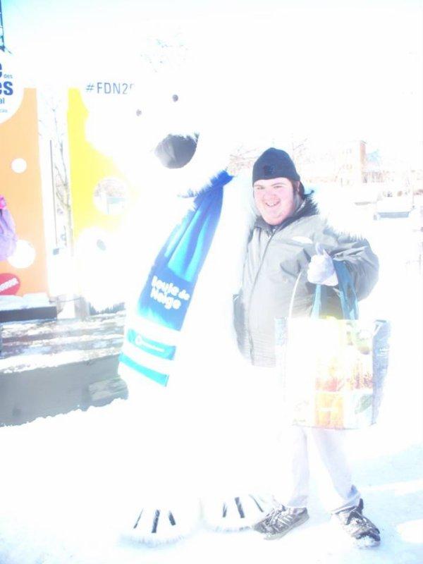 la fête des neige