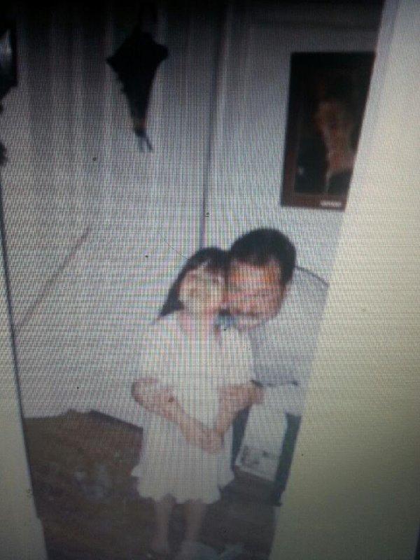 ma petite soeur et papa