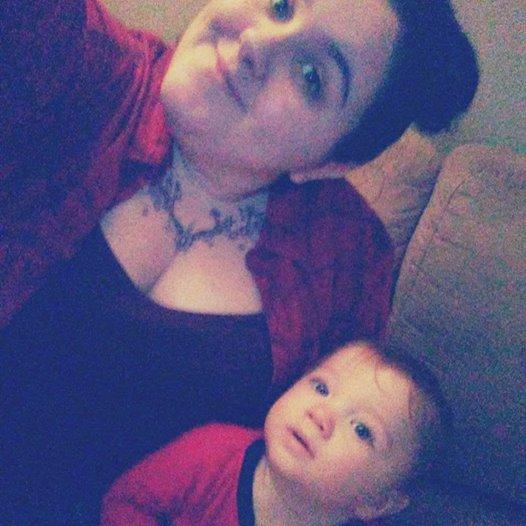ma petite soeur et mon neveux