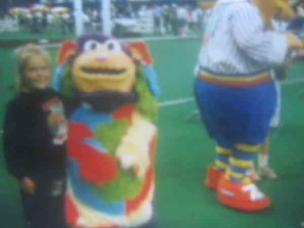 mascotte au stade olympique