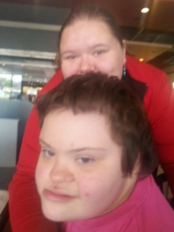 moi et ma cousine cathy