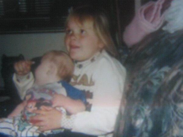 moi et mon petit frère