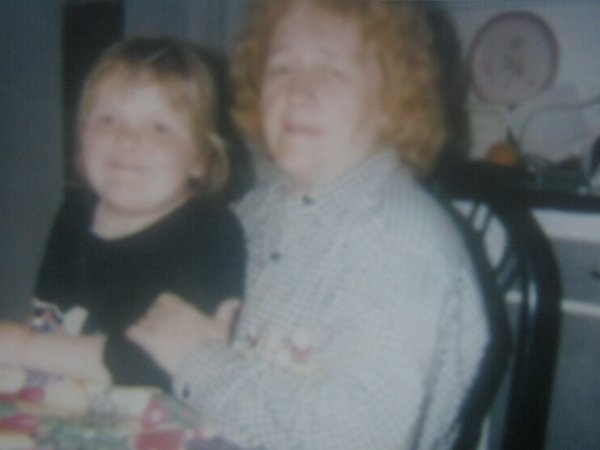 moi et ma grand-mere