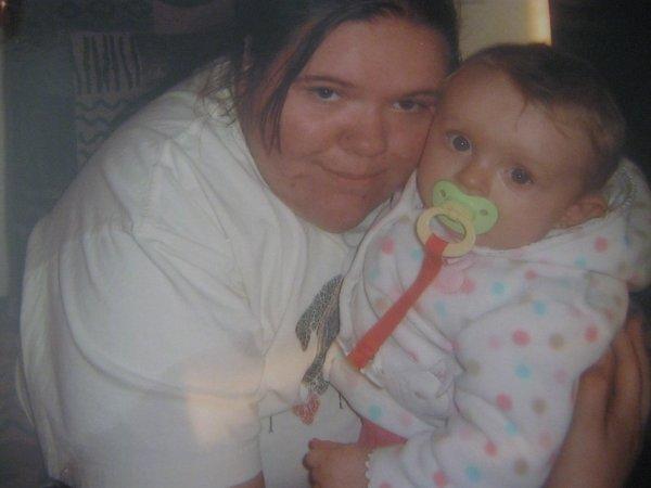 moi et ma petite cousine marie-jade